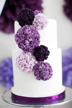 60 th birthday cake lavender - Google Search