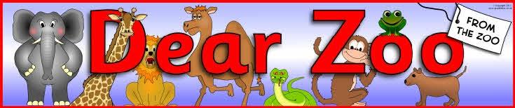 Dear Zoo display banner (SB4812) - SparkleBox