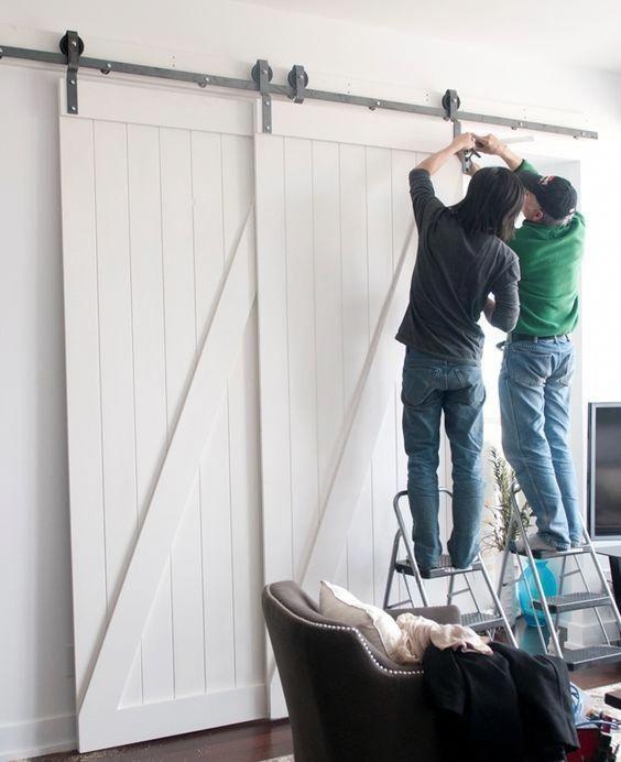 Barn Door Lock Systems | Sliding Barn Door Hardware For Double Doors