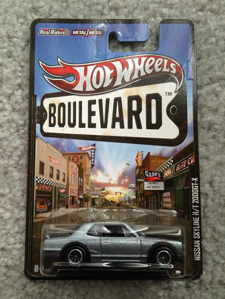 2013 hot wheels boulevard nissan skyline ht 2000gt x vhtf rare real riders - Rare Hot Wheels Cars 2013