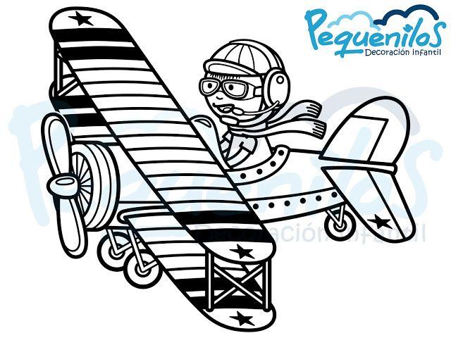Pequenilos: Niño viajando en avioneta