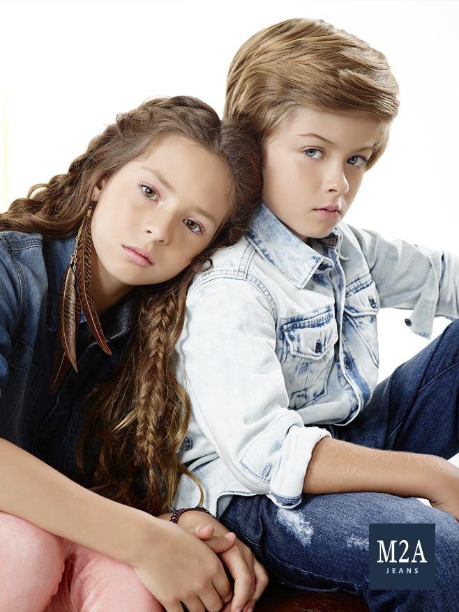 M2A Jeans | Fall Winter 2015 | Kids Collection | Outono Inverno 2015 | Coleção Infantil | calça jeans infantil feminino; camisa jeans; calça jeans infantil masculina; look infantil; denim kids.