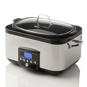 Wolfgang Puck 6qt 1350-Watt Stainless Steel VersaCooker at HSN.com.    Have this and LOVE it!!!