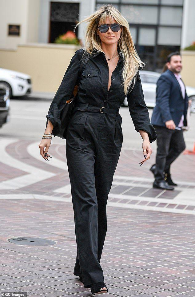 Heidi Klum Ankle Boots - Heidi Klum Looks - StyleBistro