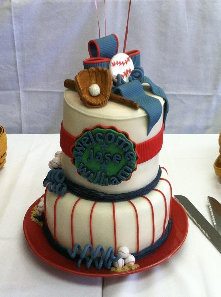 baby shower baseball cake cake designs pinterest