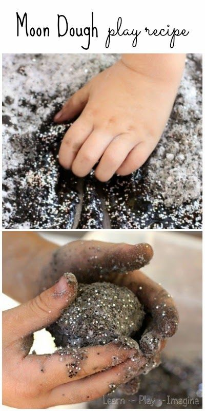 baking soda water black and silver glitter black liquid watercolor paint or food coloring