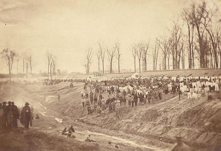 Camp Morton, Indiana prisoner of war camp in Civil War