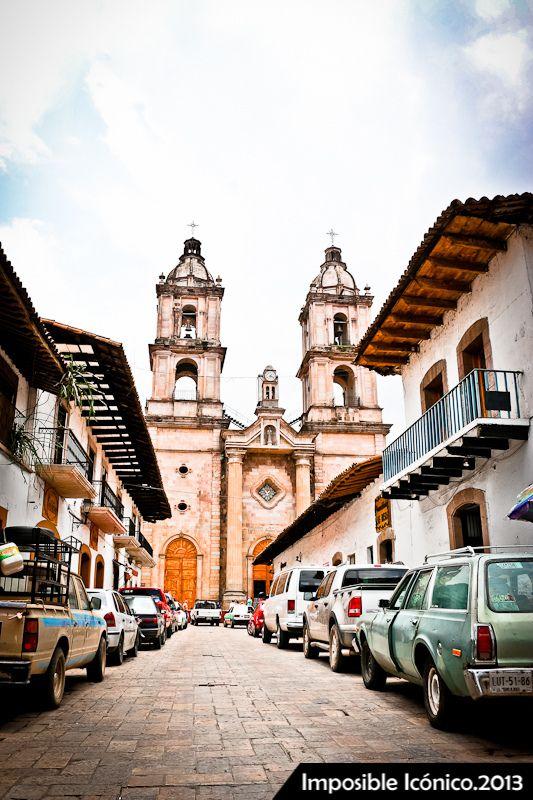 Valle de Bravo, pueblo mágico The church I got married in