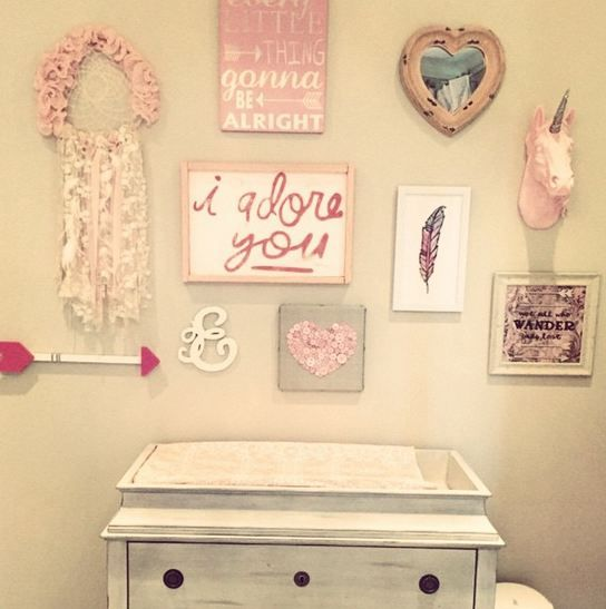 We are loving how @lindsaycruz has used The Bayer, our exclusive #WFT unicorn to decorate this cute nursery space!