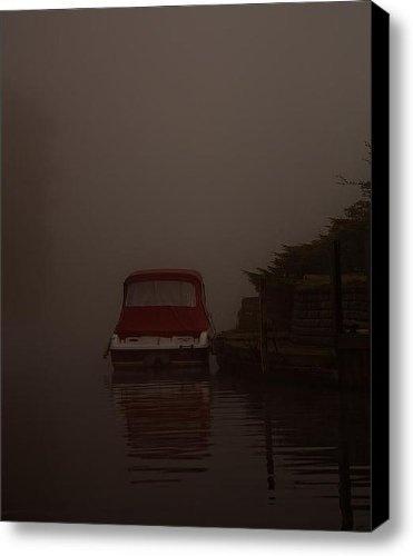 Red Reflection Canvas Print / Canvas Art - Artist Dawn OConnor by Fine Art America, http://www.amazon.com/gp/product/B009LAHWCO/ref=cm_sw_r_pi_alp_a4OOqb1DA88ZX
