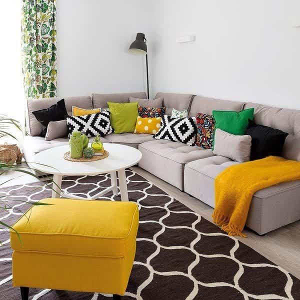 Un salón Happy deco: El color es el protagonista    #revolucionONLYONE #sumatealcambio   +Info: 936386432 | www.onlyone.casa    http://qoo.ly/dx69d