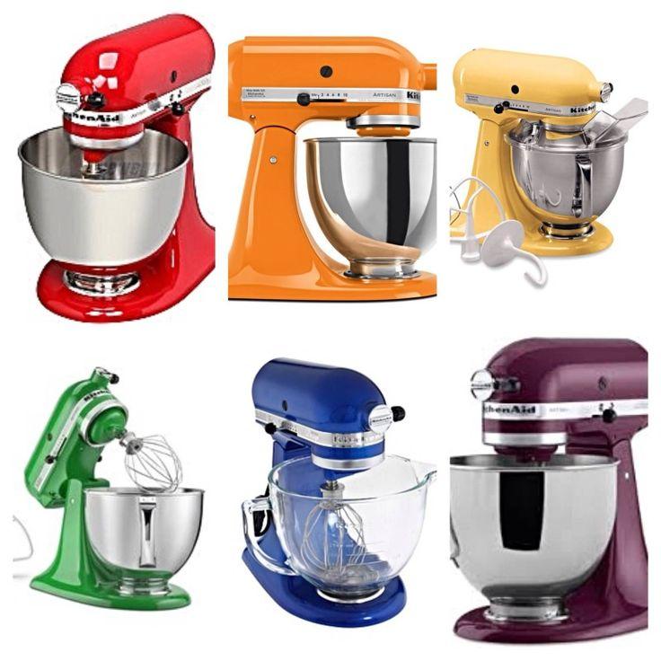 kitchenaid artisan design mixer colors