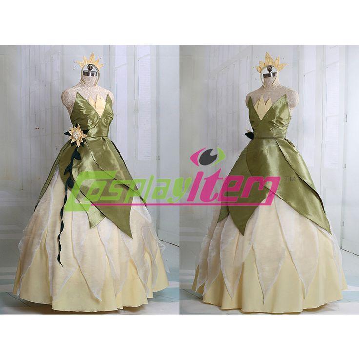 Aangepaste film de prinses en de kikker cosplay tiana prinses jurk kostuum volwassen vrouwen in op maat gemaakte film de prinses en de kikker prinses tiana cosplay dress kostuum volwassen vrouwen  Karakte van kleding op AliExpress.com | Alibaba Groep