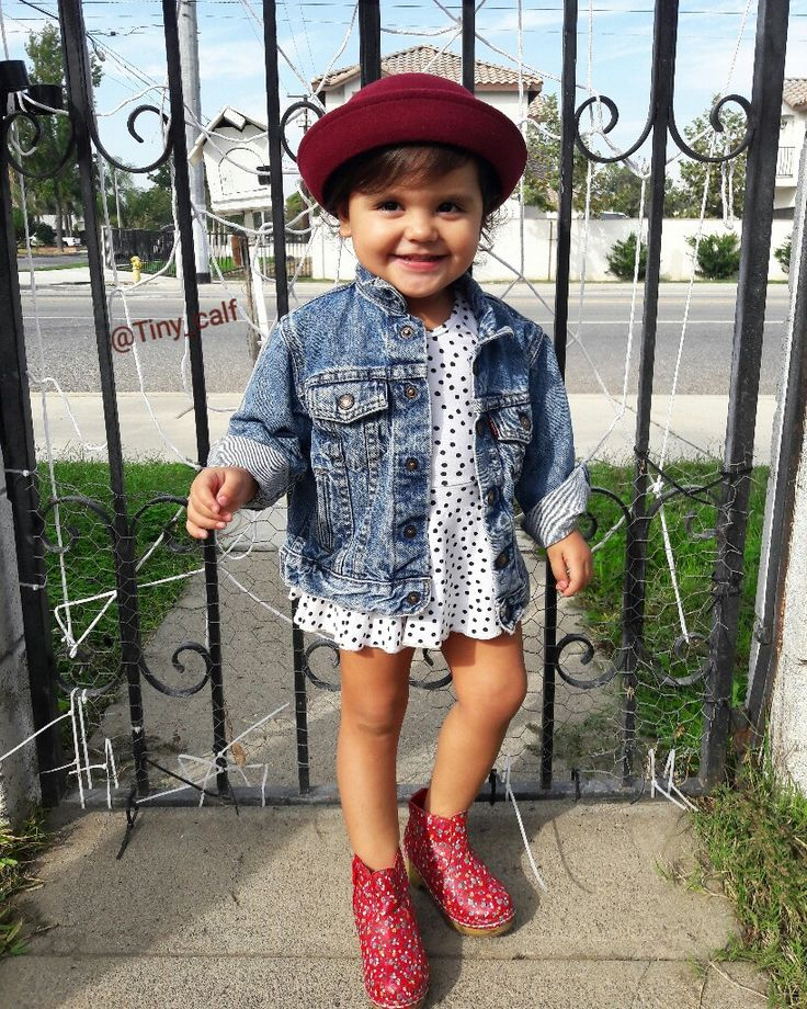 Baby fall outfits. Baby/toddler  fashion. Dr.  Martens.  Doc Martens. Target littles. Target style. Bowler hat. Hipster baby. Vintage Levi's denim jacket. Alice and Ames leotard dress. Boho/bohemian baby/toddler. Toddler fall outfit.