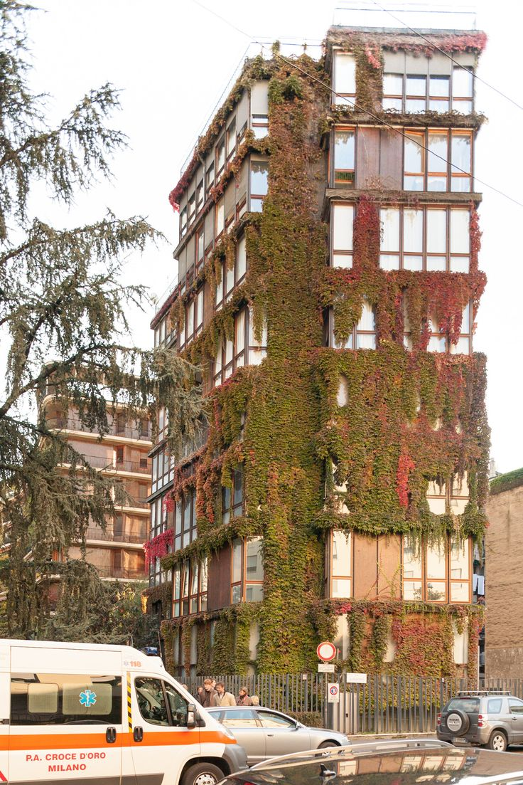 IT, Milano, via quadronno Apartments. Architects Angelo Mangiarotti and Bruno Morassutti, 1960.