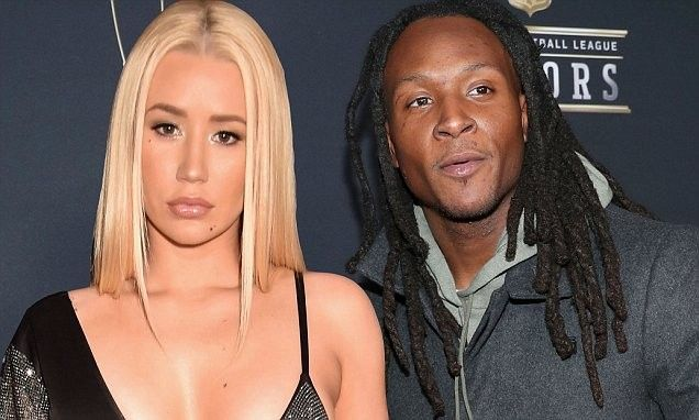 It S Now Official Iggy Azalea And Nfl Star Deandre Hopkins Confirm They Are Dating On Instagram Deandre Hopkins Iggy Azalea Hopkins