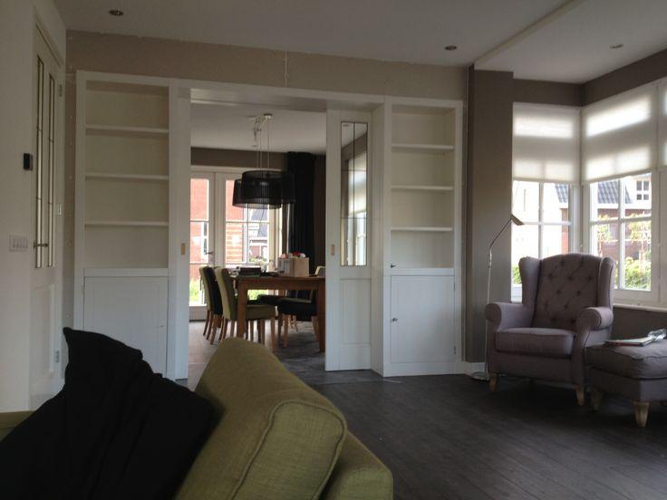 Kamer-en-suite kast. Op maat gemaakt! www.jbbinnenwerk.nl