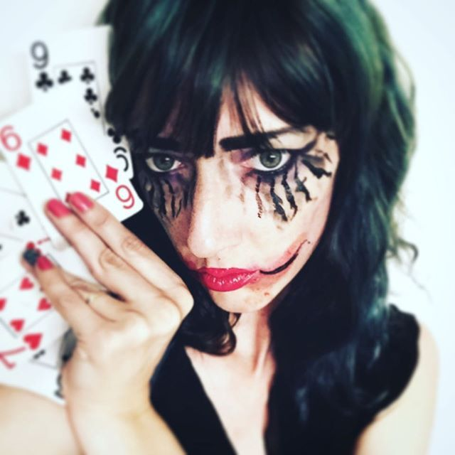 So ready for #Gotham to start!!! #Joker #genderbender ... Sorry no post activity past few days I  had birthday weekend activities/ Battle of Bristol fun and now to ready for #holiday - hopefully have a new set Tuesday Before I leave 🤓 @femme_fae