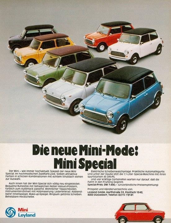 mini cooper ad
