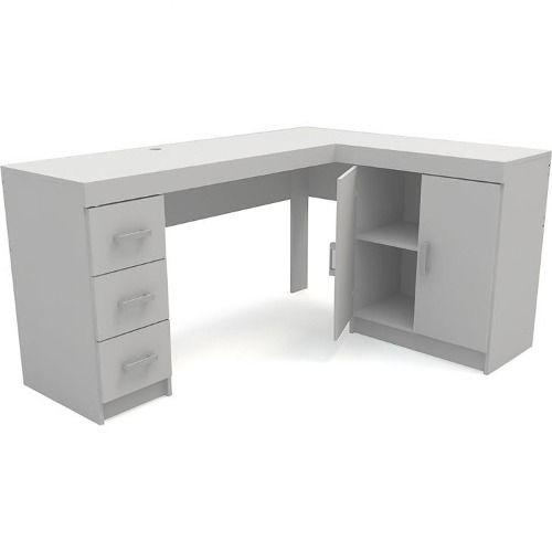 escritorio en l , mobelstore... con armado reversible