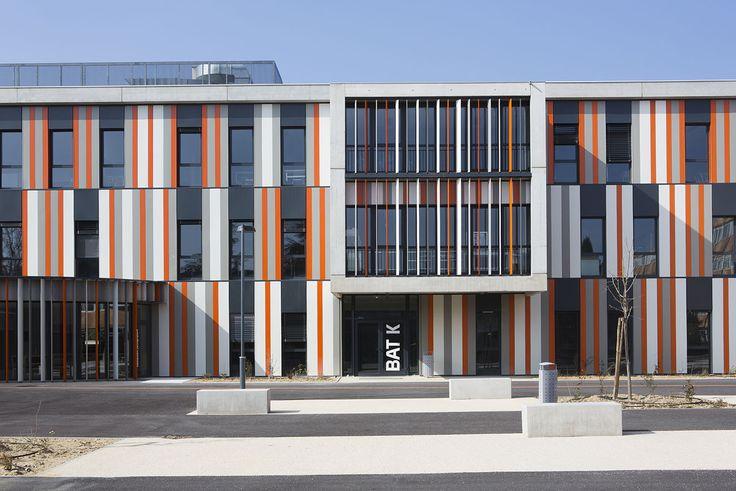 Galeria de Escola de Segundo Grau Lycée Albert Einstein / NBJ Architectes + François Privat - 1