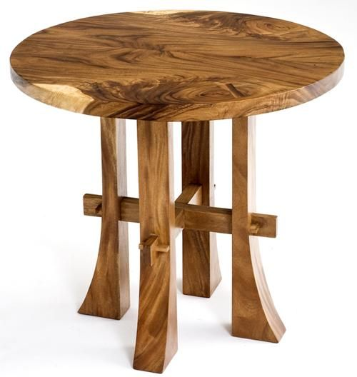 17 Best ideas about Wood Tables on Pinterest  Log table, Used coffee tables  and Rustic cocktail glasses