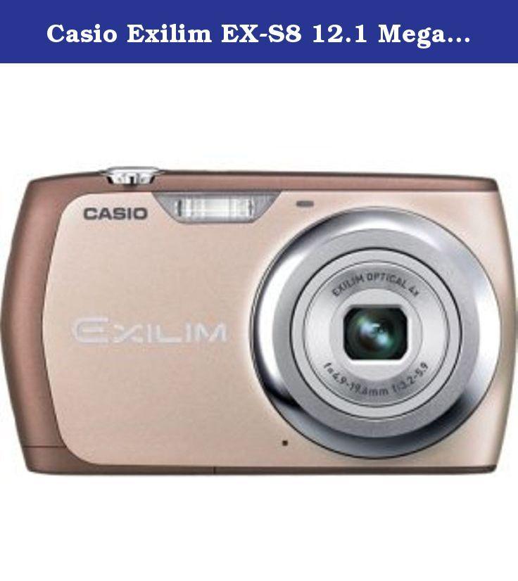 Casio Exilim EX-S8 12.1 Megapixel Compact Camera - Pink. EXILIM EX-S8 PINK 12 MP 2.7IN LCD 4X ZOOM CAMERA. 2.7' LCD - 4x Optical Zoom - 4000 x 3000 Image - 848 x 480 Video - Motion JPEG (AVI). Casio Exilim EX-S8 12.1 Megapixel Compact Camera - Pink. EXILIM EX-S8 PINK 12 MP 2.7IN LCD 4X ZOOM CAMERA. 2.7' LCD - 4x Optical Zoom - 4000 x 3000 Image - 848 x 480 Video - Motion JPEG (AVI).