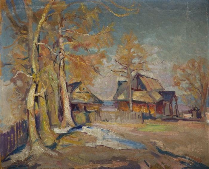 Stefan Filipkiewicz - Pejzaż z Zakopanego