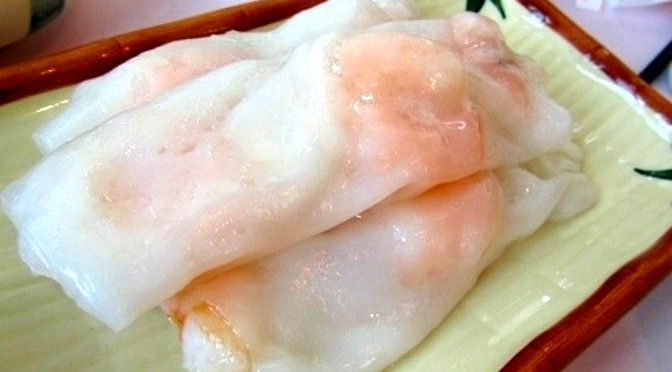The Best Shrimp Noodle Rolls Recipe | Dim Sum Central