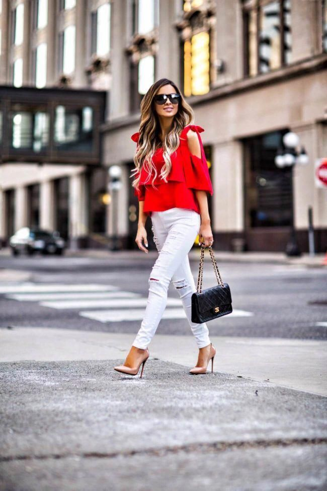 d5e48860c533 mn fashion blogger mia mia mine wearing a red bow shoulder top and christian  louboutin so kate heels  ChristianLouboutin