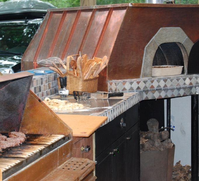 Top 25+ Best Rustic Outdoor Kitchens Ideas On Pinterest