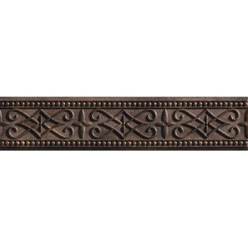 Shop Wayfair for Marazzi Romancing the Stone 13 x 3 Compressed Stone Renaissance Border Tile Trim in Noce - Great Deals on all Kitchen & Dining products with the best selection to choose from!