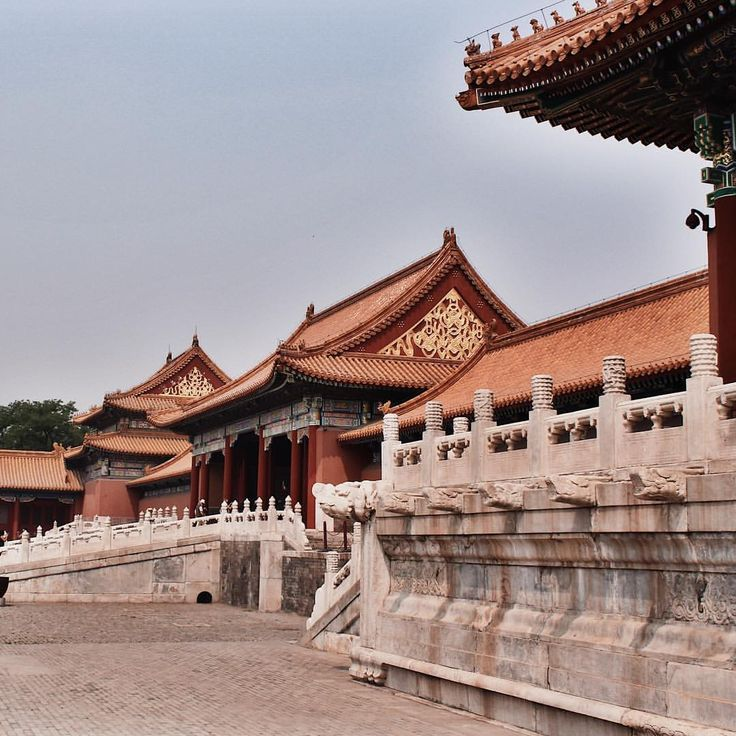 The Forbidden Palace in Beijing, China! So unreal!! Chinese architecture is so old and beautiful!