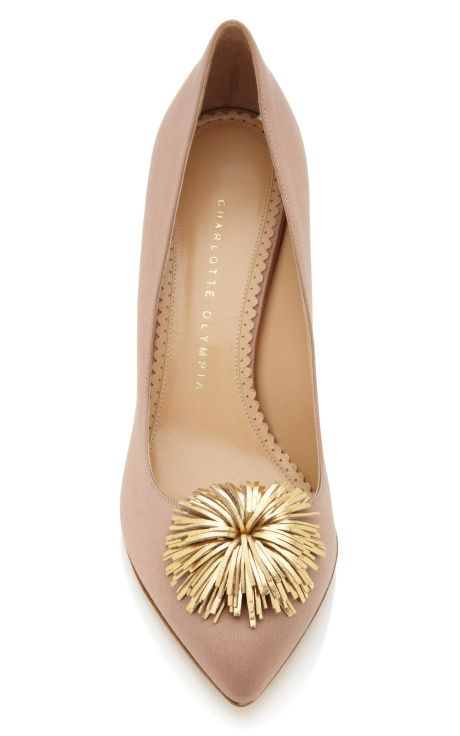 Mink Desiree Pump by Charlotte Olympia Now Available on Moda Operandi