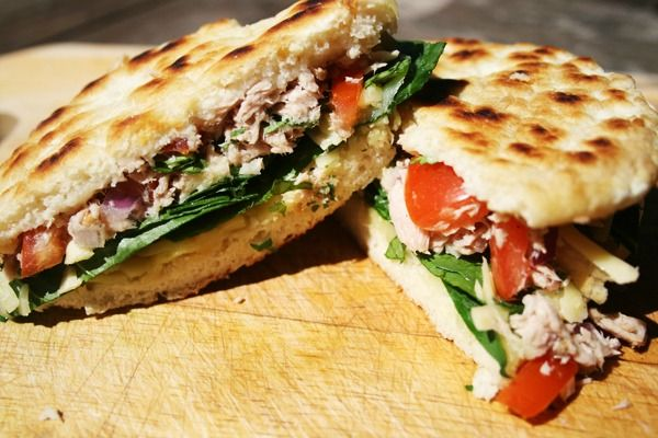 Piadina: Two different versions