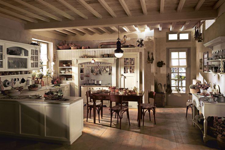 17 migliori idee su cucine in stile country su pinterest for Aprire piani di casa in stile ranch