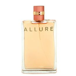 Allure-Chanel Clean and sheer, warm and sexy. Difficult to define; impossible to resist. An elegant, luxurious spray closest in strength and character to the parfum form. The sleek, portable signature bottle is perfect for the dressing table or travel.
