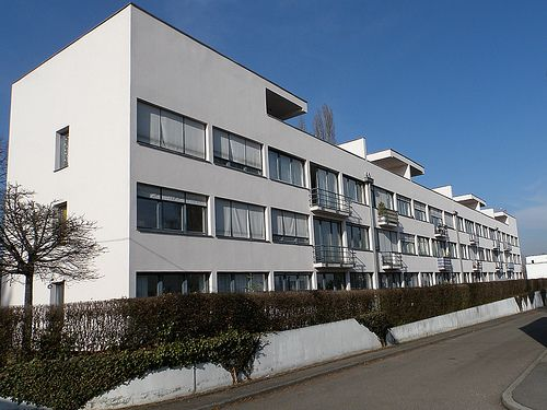 Architecture  Apartment Complex, Weissenhof Housing Development  Ludwig Mies van der Rohe with others