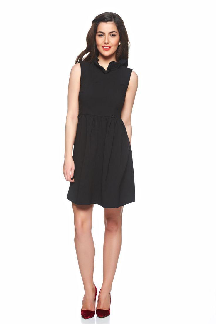 Comanda online, Rochie PrettyGirl Gorgeous Style Black. Articole masurate, calitate garantata!