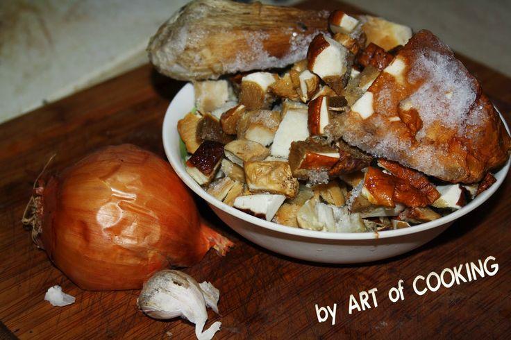 ART of COOKING: Continuazione ..... questi funghi dovranno finire ...