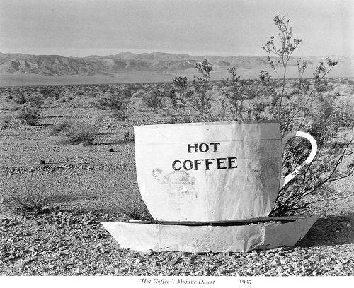 Edward Weston, Hot Coffee, Mojave Desert, 1937: Edward Weston, Deserts ...