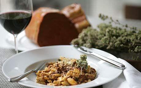 Francesco Mazzei recipe: lamb ragu cavatelli