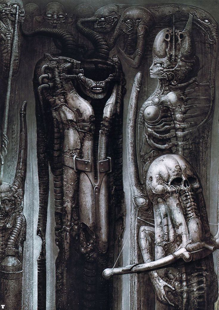 Hans Rüdi Giger: Biomechanoid III