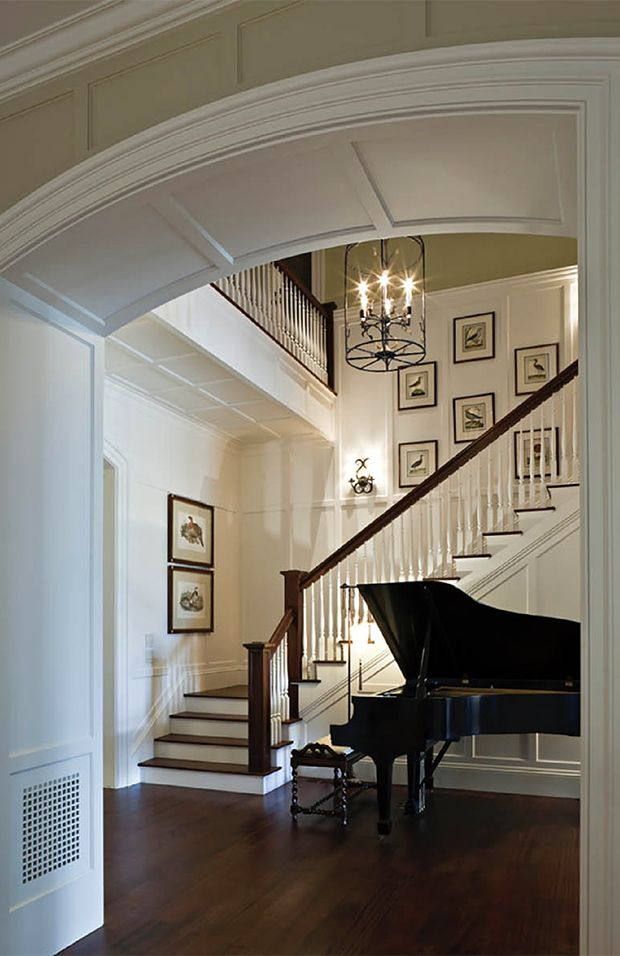 Awesome Colonial Style Homes Interior Design Pictures - Decorating ...