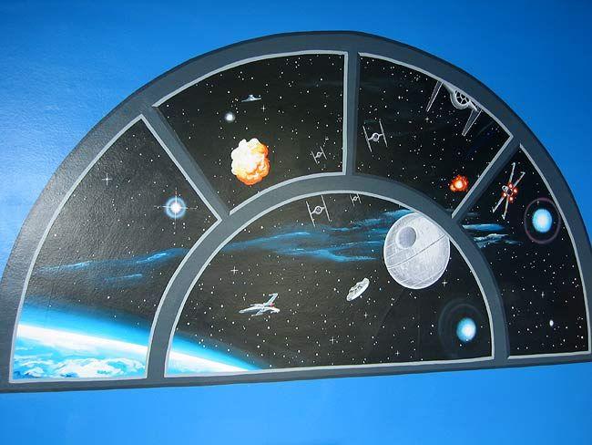 Star Wars Wall Murals 81 best star wars bedroom images on pinterest | star wars bedroom
