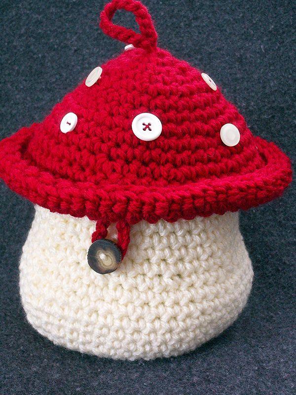Crochet Mushroom ...  #crochet_inspiration GB
