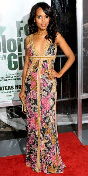 Look of the Day - October 26, 2010 - Kerry Washington from #InStyle