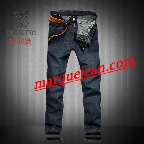 Vendre Jeans Louis Vuitton Homme H0022 Pas Cher En Ligne.