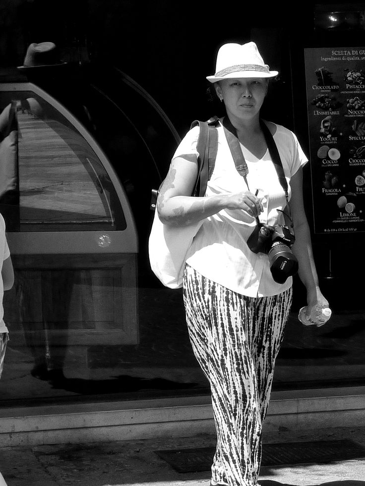 Snapping the photographer in Verona....