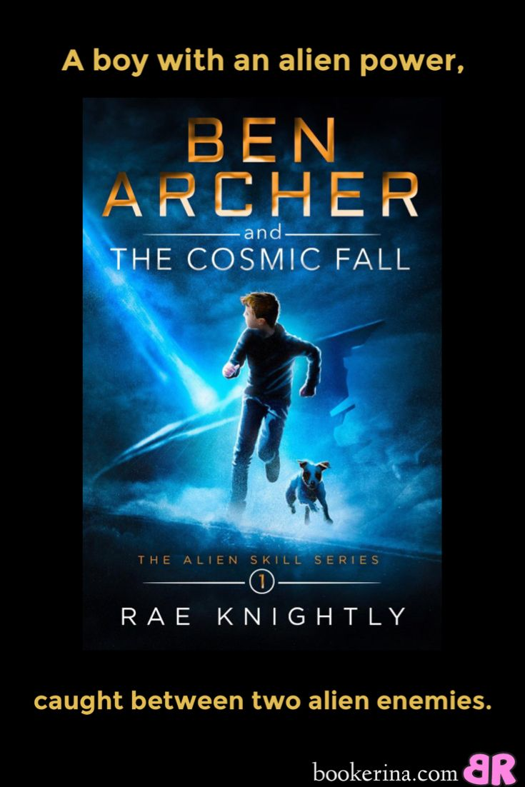 Ben Archer and the Cosmic Fall is great kid-lit for when you need a fun hand light read. Read my review here: https://bookerina.com/ben-archer-and-the-cosmic-fall/